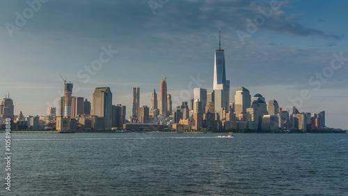 newyork skyline as seen from Hoboken