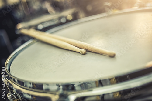Fotografía  Detalle tambor