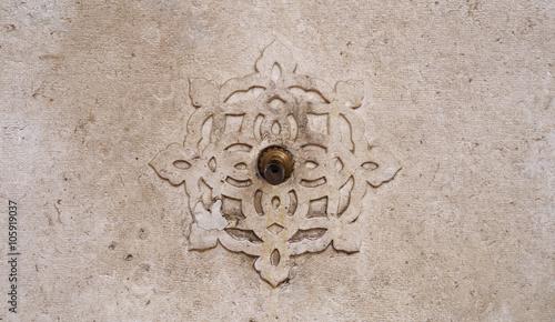 Fotografija  Old water tap of Islamic washstand Mosque