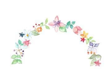 花冠、半円