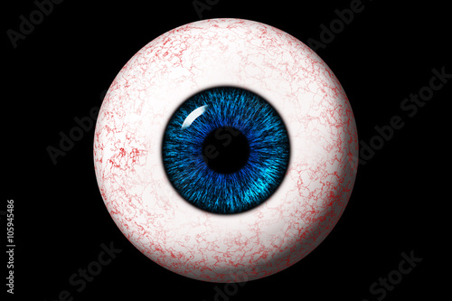 Photo Eyeball close up