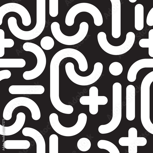 Fototapety, obrazy: Geometric seamless pattern
