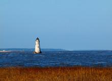 Cockspur Island Lighthouse In Georgia