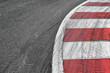 canvas print picture - Race track detail