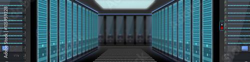 nse11 NewServerEdition - modern data center with server racks - 4to1 g4319
