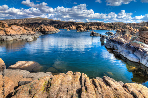 Staande foto Arizona Arizona-Prescott-The Granite Dells-Watson Lake