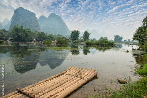 Foto op Canvas Guilin landscape in Yangshuo Guilin, China