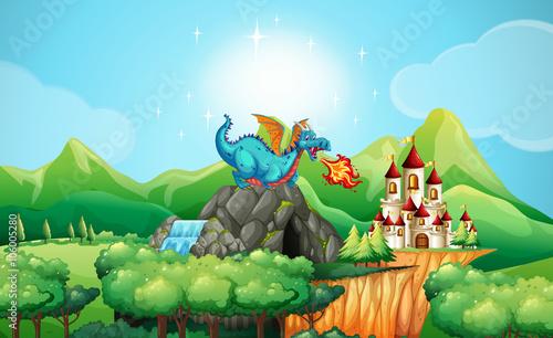 smok-dmuchajacy-na-zamek