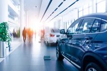 Modern Car Sales Showroom
