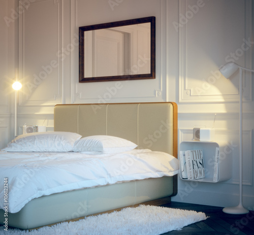 Old Vintage Style Bedroom Retro Design Schlafzimmer Buy This