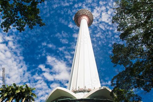 Foto op Canvas Kuala Lumpur Menara tower Kuala Lumpur