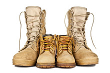 Army Boots And Children's Shoes