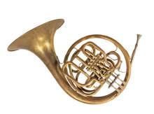 Altes Blasinstrument Horn, Wal...