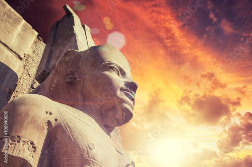Tuinposter Egypte Karnak Temple in Luxor