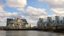 Vauxhall Bridge And The MI6 Bu...