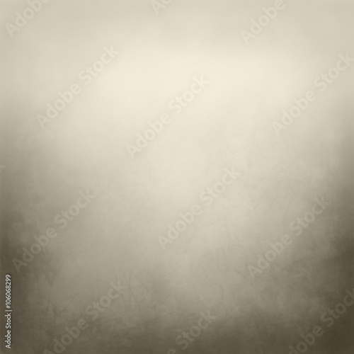 Fotografia  brown and beige background with distressed border texture and soft lighting, ele