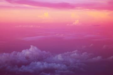 cloud background, pastel gradient colors