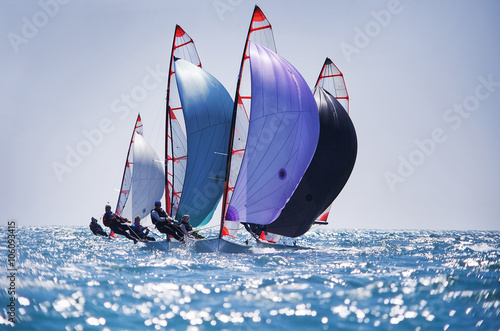 Voile sailing regatta