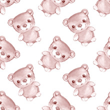 Forest Small Animals. Teddy 1 In Vector