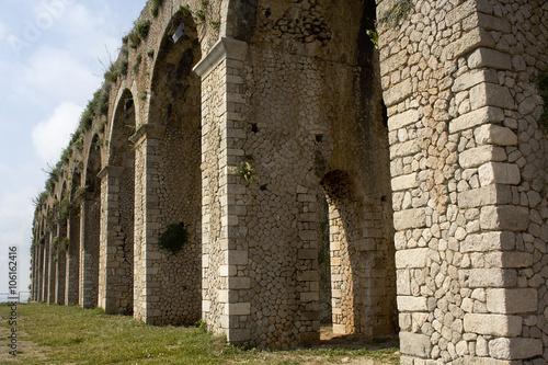 Valokuva  Temple of Jove in Terracina, Lazio, Italy.