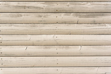 Section Of Off White Wood Pane...