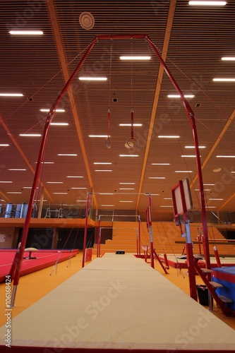Gymnastic equipment Canvas Print