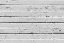 Section Of Weathered White Woo...