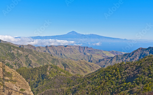 Tuinposter Canarische Eilanden landscapes of the Canary Islands