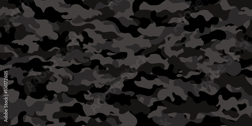 Fotografía  Camouflage background. Seamless pattern.Vector. 迷彩パターン