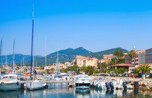 Marina Of Propriano, South Corsica, France