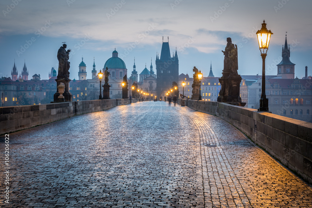 Fototapety, obrazy: Charles Bridge, Prague