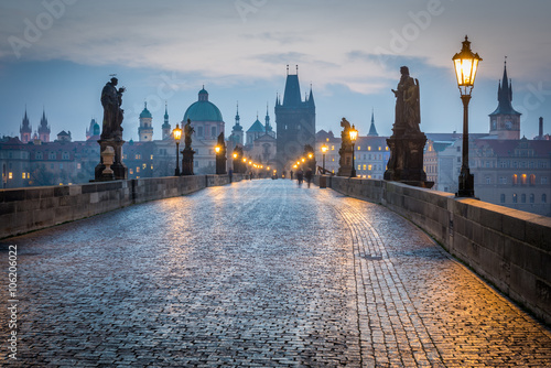 Canvas Prints Prague Charles Bridge, Prague