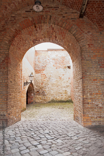 The catacombs in citadel Spandau. Germany. Fototapeta