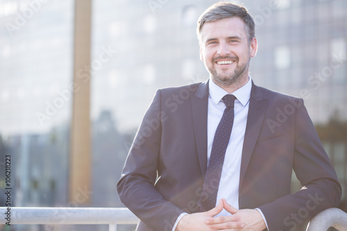 Fotografie, Obraz  Smiling elegant boss