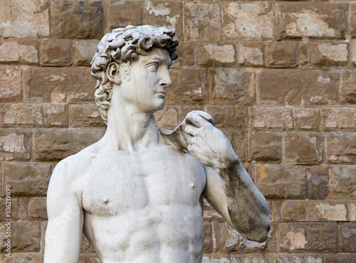 Fotografie, Obraz  David Michelangelo ve Florencii, Itálie