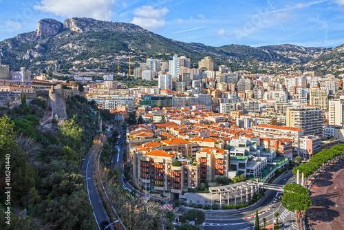 Fotografía  Monaco and Monte Carlo principality.