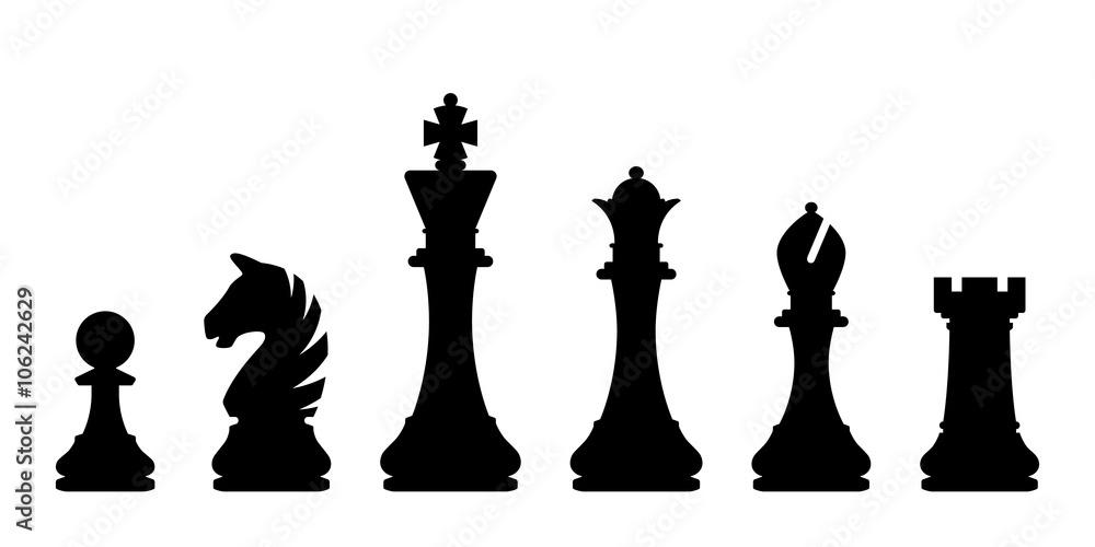 Fototapeta Chess pieces