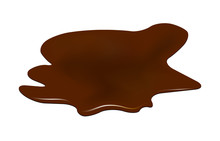 Puddle Of Chocolate, Mud Spill...