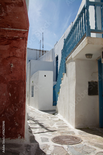 Fototapety, obrazy: Naoussa, Paros, Griechenland