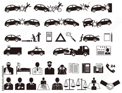 自動車事故 交通事故 保険会社