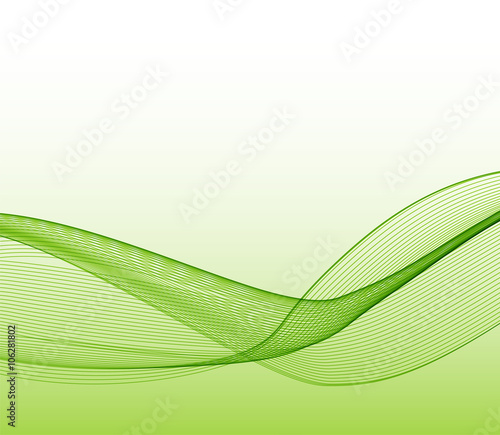 Photo Stands Fractal waves Abstract wave design element