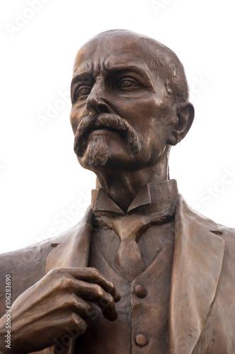 Fotografía  Monumento de Tomáš Masaryk (TGM) en Carlsbad, Bohemia, República Checa