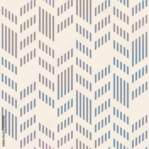 Obraz na plátne  Abstract Seamless Geometric Vector Chevron Pattern. Mesh backgro
