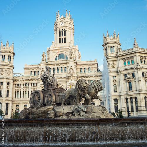 In de dag Madrid Plaza Cibeles in Madrid