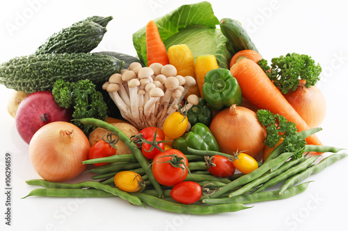 Keuken foto achterwand Groenten 新鮮な野菜