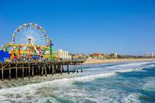 Santa Monica Pier, California,...