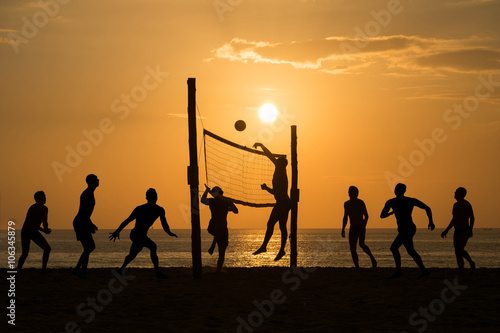 obraz lub plakat beach Volleyball