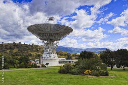 Deurstickers Nasa CAN Space dish 2 sky