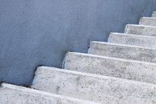 Abstract Concrete Stairs Compo...