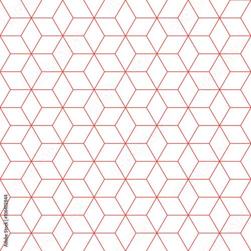 czerwonej-linii-kostki-wzor-tla-element-projektu-retro-wektor